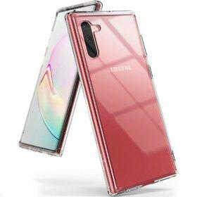 Husa Ringke Fusion PC + Bumper TPU pentru Samsung Galaxy Note 10 Plus Transparent