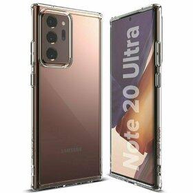 Husa Ringke Fusion PC + Bumper TPU pentru Samsung Galaxy Note 20 Ultra Transparent