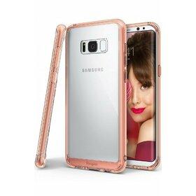 Husa Ringke Fusion pentru Samsung Galaxy S8 Plus Rose Gold