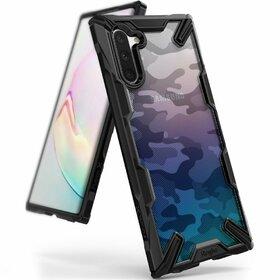 Husa Ringke Fusion X Design din PC + Bumper TPU pentru Samsung Galaxy Note 10 Camo