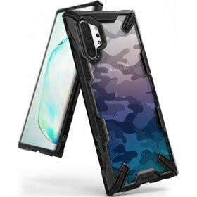 Husa Ringke Fusion X Design din PC + Bumper TPU pentru Samsung Galaxy Note 10 Plus Camo