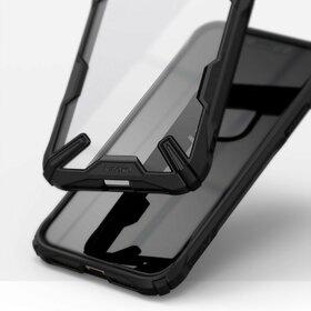 Husa Ringke Fusion X PC + Bumper TPU pentru iPhone 11 Black