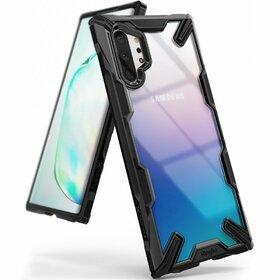 Husa Ringke Fusion X PC + Bumper TPU pentru Samsung Galaxy Note 10 Plus Black