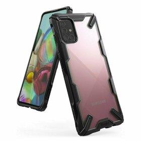 Husa Ringke Fusion X PC + Bumper TPU pentru Samsung Galaxy A71