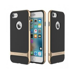 Husa Rock Royce pentru iPhone 7+ Gold