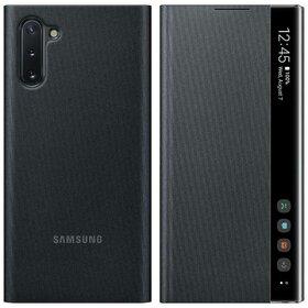 Husa Samsung Clear View cu functie Stand si Display Inteligent pentru Samsung Galaxy Note 10