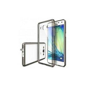 Husa Samsung Galaxy A7 2015 Ringke FUSION SMOKE BLACK + BONUS folie protectie display Ringke