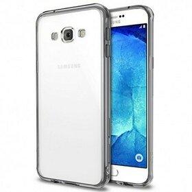 Husa Samsung Galaxy A8 2015 Ringke FUSION SMOKE BLACK + BONUS folie protectie display Ringke