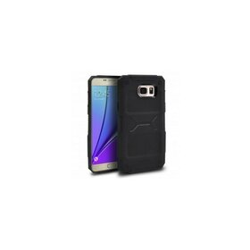 Husa Samsung Galaxy Note 5 Ringke REBEL BLACK + folie Ringke cadou