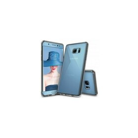 Husa Samsung Galaxy Note 7 Ringke FUSION SMOKE BLACK + bonus folie Ringke Invisible Screen Defender