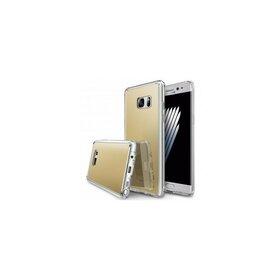 Husa Samsung Galaxy Note 7 Ringke MIRROR ROYAL GOLD + BONUS folie protectie display Ringke