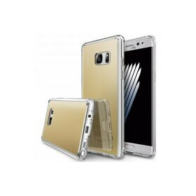 Husa Samsung Galaxy Note 7 Ringke MIRROR ROYAL GOLD + BONUS folie protectie display Ringke
