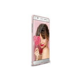 Husa Samsung Galaxy Note 7 Ringke Slim FROST PINK + Bonus folie Ringke Invisible Screen Defender