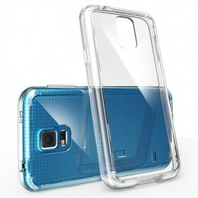 Husa Samsung Galaxy S5 Ringke FUSION CRYSTAL VIEW TRANSPARENT+BONUS folie protectie display Ringke