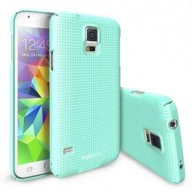 Husa Samsung Galaxy S5 Ringke SLIM Dot Mint+BONUS folie protectie display Ringke