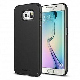 Husa  Samsung Galaxy S6 Edge Plus Ringke SLIM SF BLACK+BONUS folie protectie display Ringke