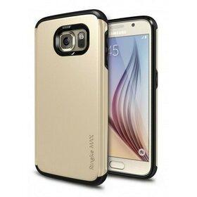 Husa Samsung Galaxy S6 Ringke ARMOR MAX ROYAL GOLD+BONUS folie protectie display Ringke