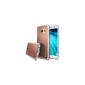 Husa Samsung Galaxy S7 Edge Ringke MIRROR ROSE GOLD