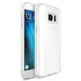 Husa Samsung Galaxy S7 Ringke Frost WHITE + BONUS folie protectie display Ringke