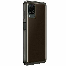 Husa Samsung Soft Cover pentru Galaxy A12 Black