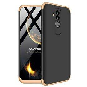 Husa Shield 360 GKK pentru Huawei Mate 20 Lite Black&Gold