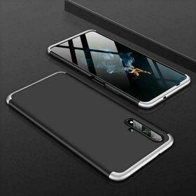 Husa Shield 360 GKK pentru Huawei Nova 5T / Honor 20 / Honor 20 Pro / Honor 20S Black&Silver