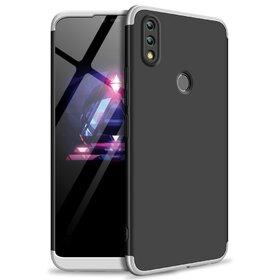 Husa Shield 360 GKK pentru Huawei P Smart (2019) Black&Silver