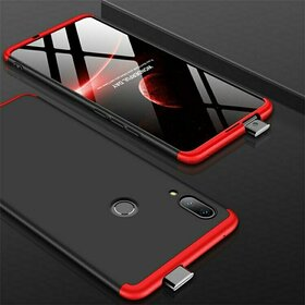 Husa Shield 360 GKK pentru Huawei P Smart Z Black&Red