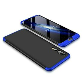 Husa Shield 360 GKK pentru Huawei P20 Pro Black&Blue