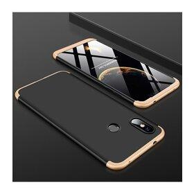 Husa Shield 360 GKK pentru Huawei Y7 (2019)/ Huawei Y7 Prime (2019) Black&Gold