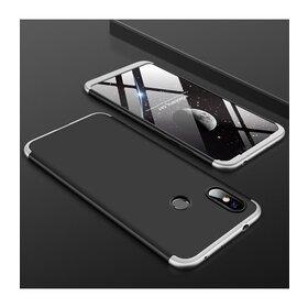 Husa Shield 360 GKK pentru Huawei Y7 (2019)/ Huawei Y7 Prime (2019) Black&Silver