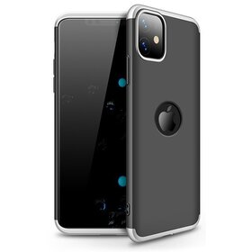 Husa Shield 360 GKK pentru iPhone 11 Black&Silver