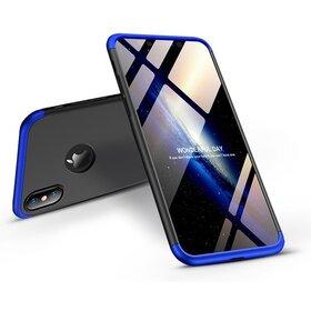 Husa Shield 360 GKK pentru iPhone X Black&Blue