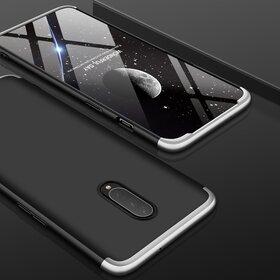 Husa Shield 360 GKK pentru OnePlus 7 Pro Black&Silver