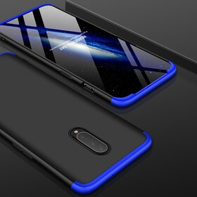 Husa Shield 360 GKK pentru OnePlus 7 Pro Black&Blue