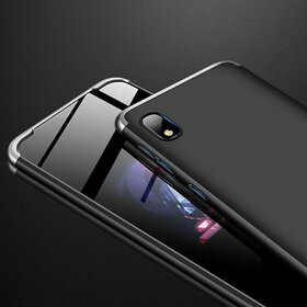 Husa Shield 360 GKK pentru Samsung Galaxy A10 Black&Silver