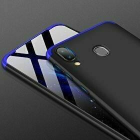 Husa Shield 360 GKK pentru Samsung Galaxy A40 Black&Blue