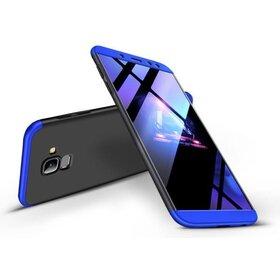 Husa Shield 360 GKK pentru Samsung Galaxy A6 (2018) Black&Blue
