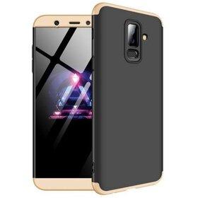 Husa Shield 360 GKK pentru Samsung Galaxy A6 Plus (2018) Black&Gold