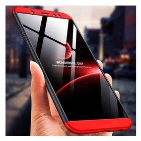 Husa Shield 360 GKK pentru Samsung Galaxy A6 Plus (2018) Black&Red