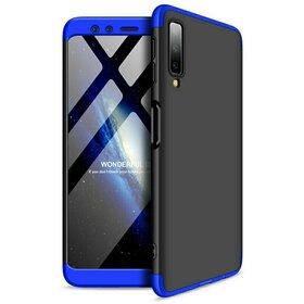 Husa Shield 360 GKK pentru Samsung Galaxy A70 Black&Blue