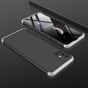 Husa Shield 360 GKK pentru Samsung Galaxy A71 Black&Silver