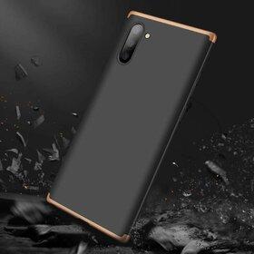 Husa Shield 360 GKK pentru Samsung Galaxy Note 10 Plus Black&Gold