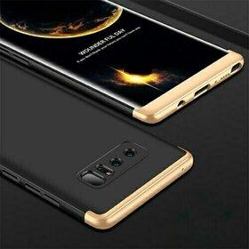 Husa Shield 360 GKK pentru Samsung Galaxy Note 8 Black&Gold