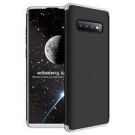 Husa Shield 360 GKK pentru Samsung Galaxy S10 Black&Silver