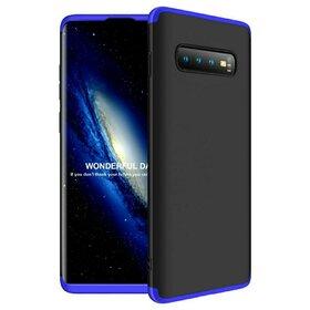 Husa Shield 360 GKK pentru Samsung Galaxy S10 Plus Black&Blue