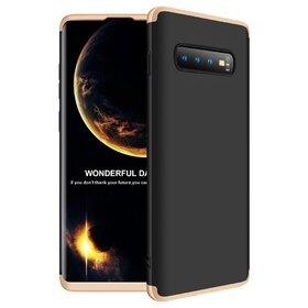 Husa Shield 360 GKK pentru Samsung Galaxy S10 Plus Black&Gold
