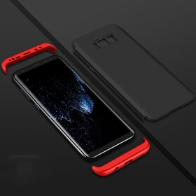 Husa Shield 360 GKK pentru Samsung Galaxy S8 Plus Black&Red