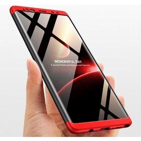 Husa Shield 360 GKK pentru Samsung Galaxy S9 Plus Black&Red