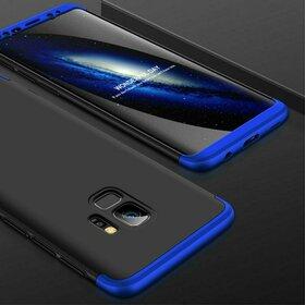 Husa Shield 360 GKK pentru Samsung Galaxy S9 Plus Black&Blue